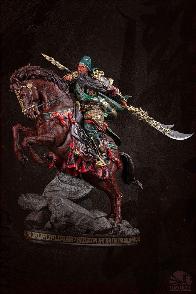 Three Kingdoms Generals Series Statue 1/7 Guan Yu Saint of War 40 cm