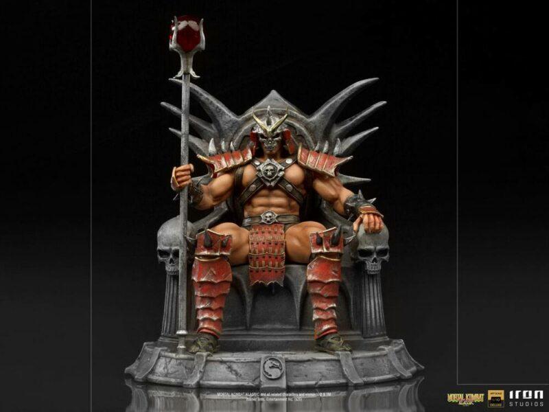 Mortal Kombat Deluxe BDS Art Scale Statue 1/10 Shao Khan 25 cm