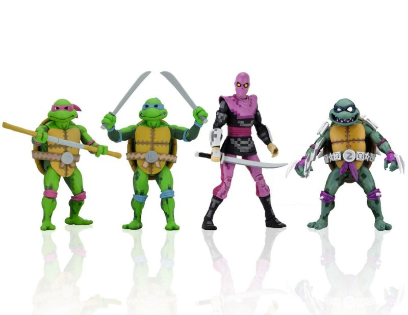 Teenage Mutant Ninja Turtles: Turtles in Time Action Figures 18 cm Series 1 Assortment (4)