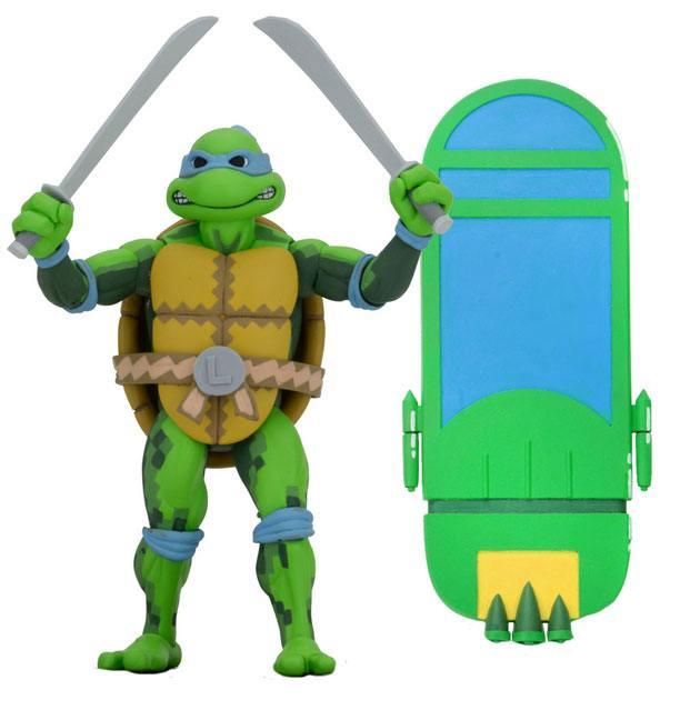 Teenage Mutant Ninja Turtles: Series 1 Turtles in Time Action Figure Leonardo 18 cm