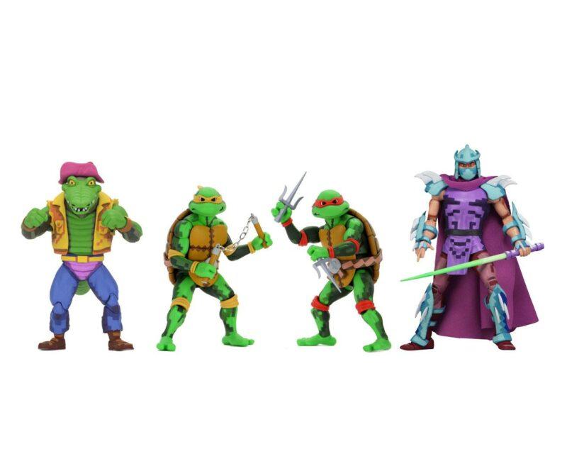Teenage Mutant Ninja Turtles: Turtles in Time Action Figures 18 cm Series 2 Assortment (4)
