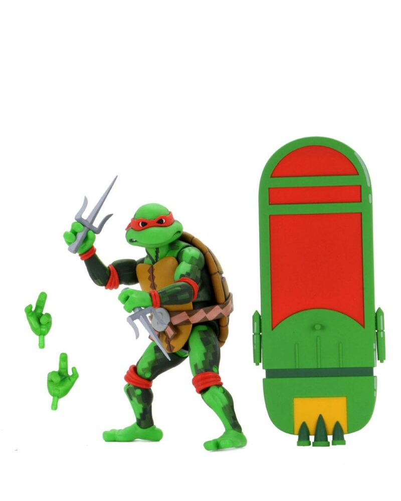 Teenage Mutant Ninja Turtles: Series 2 Turtles in Time Action Figure Raphael 18 cm