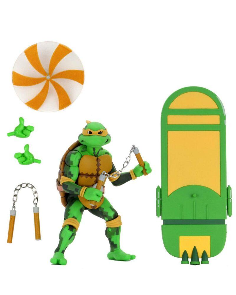 Teenage Mutant Ninja Turtles: Series 2 Turtles in Time Action Figure Michelangelo 18 cm