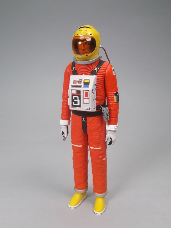 SPACE 1999 A CARTER WITH MOON BUGGY DLX ACTION FIGURE
