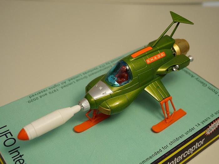 RETRO UFO INTERCEPTOR DIECAST