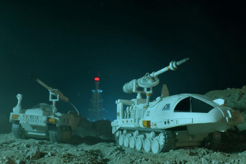 SPACE 1999 INFERNAL MACHINE DIECAST SET