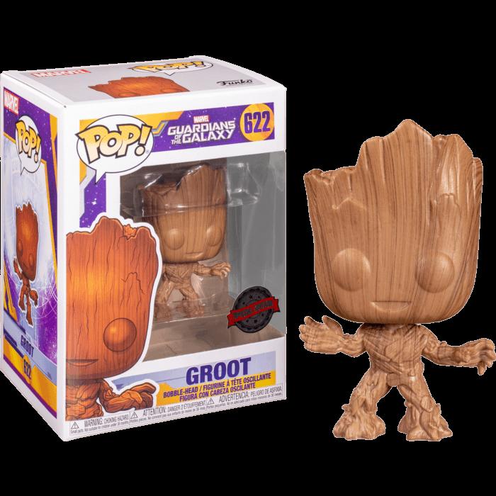 Guardian of The Galaxy Vol. 2 POP! Vinyl Figure Baby Groot Wood Deco Limited 9 cm