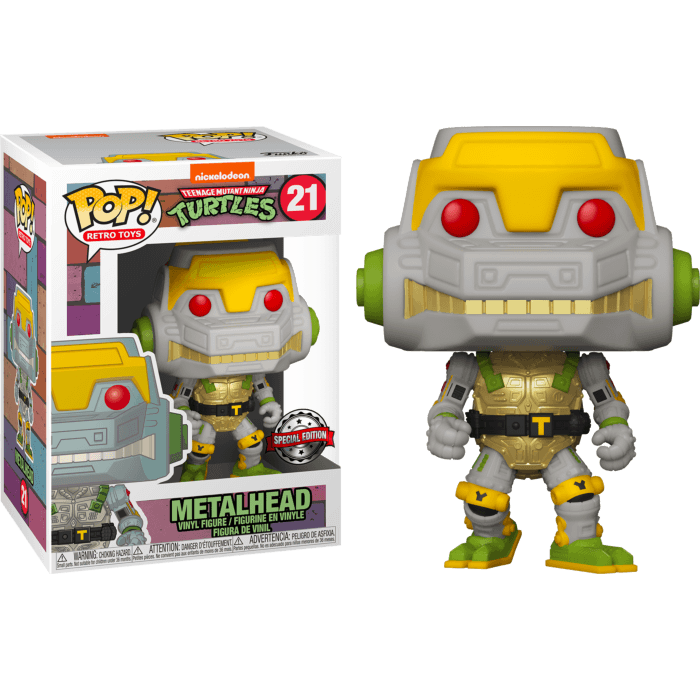 Teenage Mutant Ninja Turtles POP! Television Vinyl Figure Metalhead Limited 9 cm