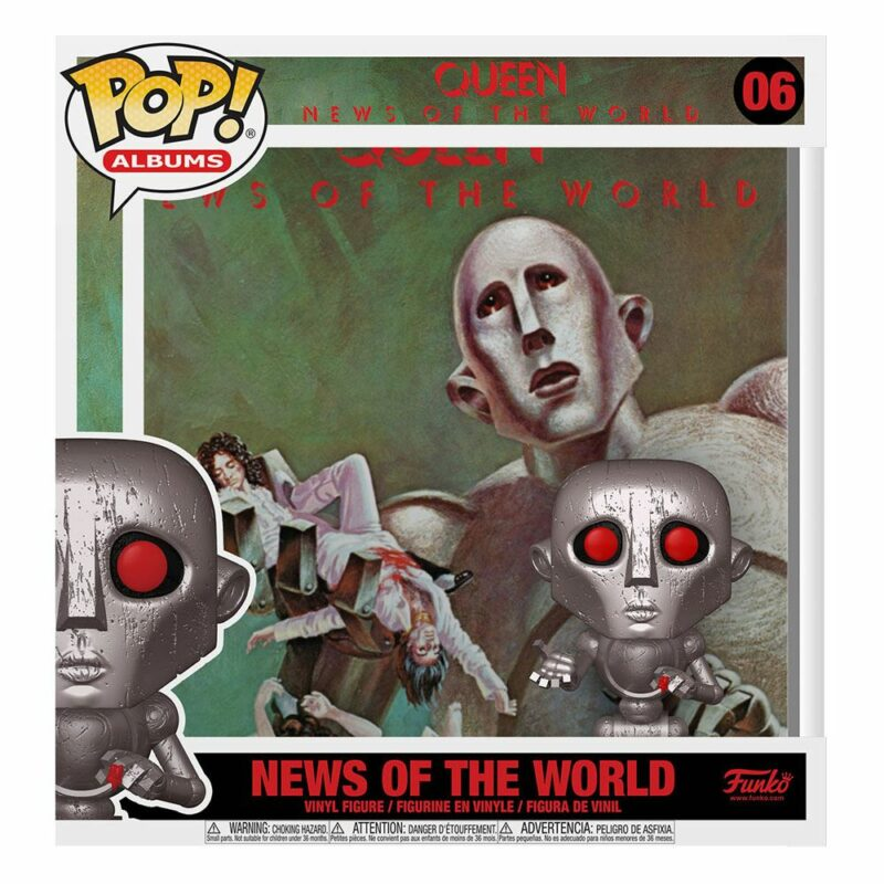 Queen POP! Albums Vinyl Figure News of the World 9 cm