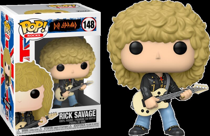 Def Leppard POP! Rocks Vinyl Figure Rick Savage 9 cm