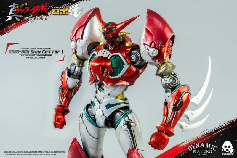 Getter Robot: The Last Day Robo-Dou Action Figure Shin Getter 1 Metallic Edition 23 cm