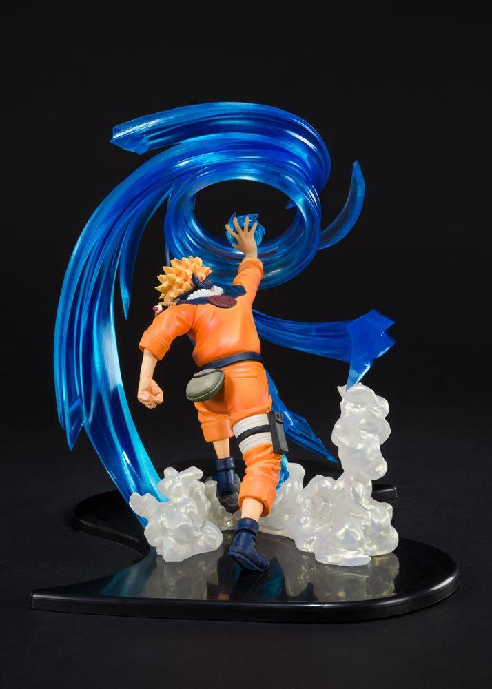 Naruto Shippuden FiguartsZERO PVC Statue Naruto Uzumaki -Rasengan- Kizuna Relation 18 cm