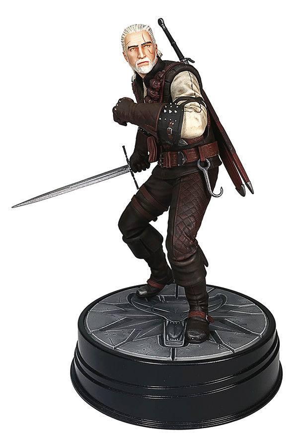Witcher 3 Wild Hunt PVC Statue Geralt Manticore 20 cm