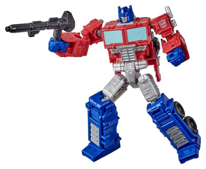 Transformers Generations War for Cybertron: Kingdom Core Class 2021 W1 Action Figure Optimus Prime 9 cm