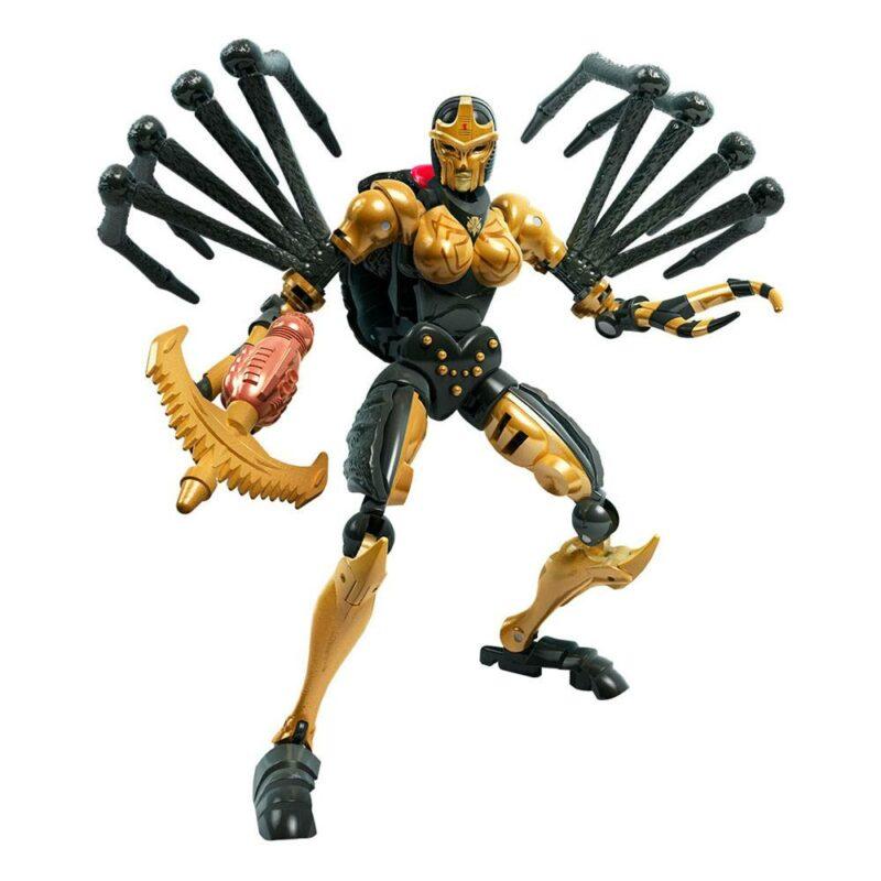Transformers Generations War for Cybertron: Kingdom Deluxe Class 2021 W1 Action Figure Blackarachnia 14 cm