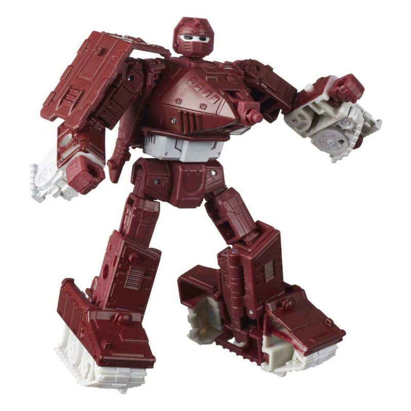 Transformers Generations War for Cybertron: Kingdom Deluxe Class 2021 W1 Action Figure Warpath 14 cm