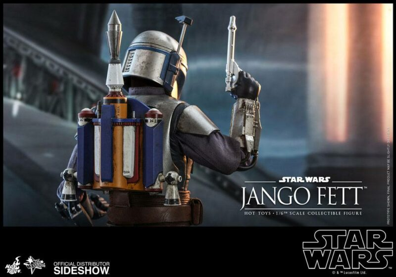 Star Wars Episode II Movie Masterpiece Action Figure 1/6 Jango Fett 30 cm