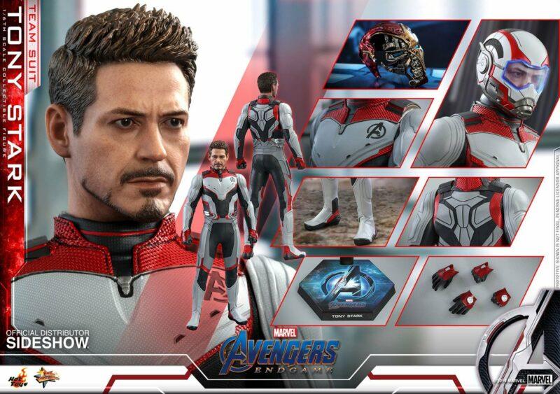 Avengers: Endgame Movie Masterpiece Action Figure 1/6 Tony Stark (Team Suit) 30 cm