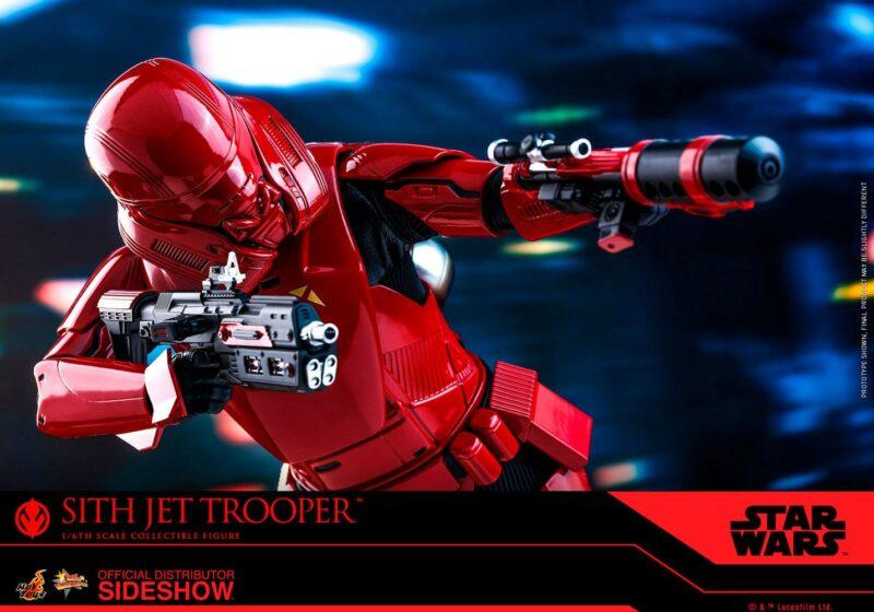 Star Wars Episode IX Movie Masterpiece Action Figure 1/6 Sith Jet Trooper 31 cm