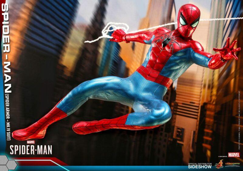 Marvel's Spider-Man Video Game Masterpiece Action Figure 1/6 Spider-Man (Spider Armor MK IV Suit)