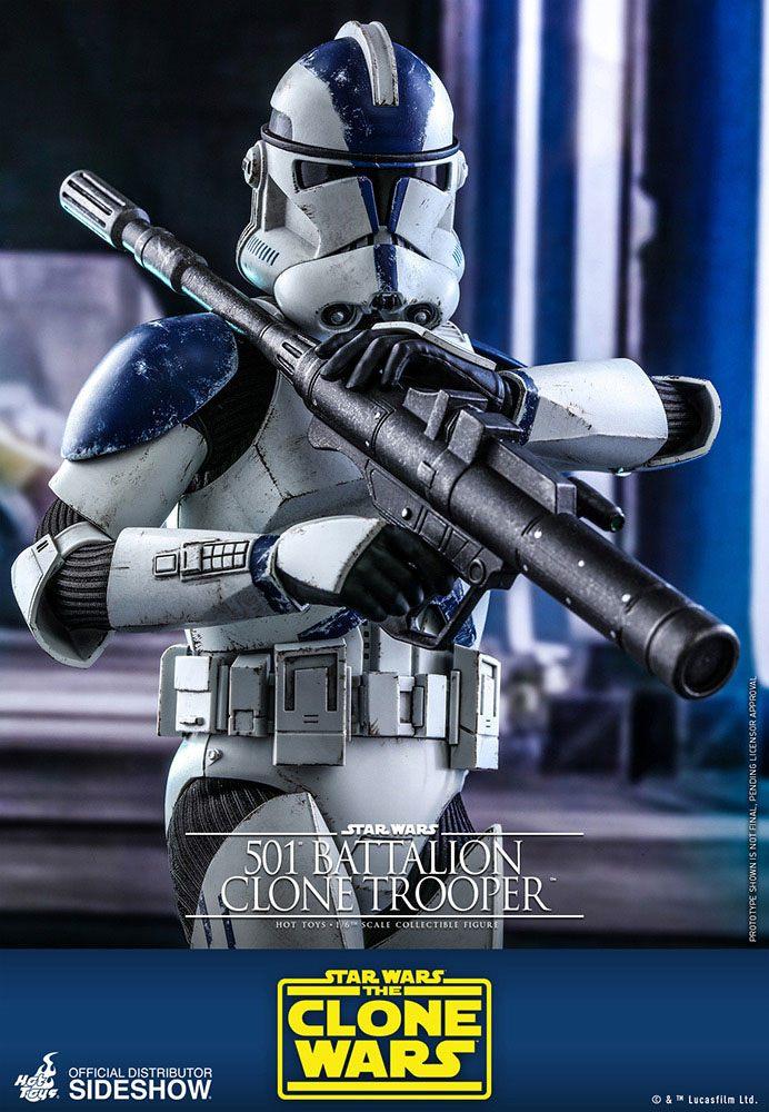 Star Wars The Clone Wars Action Figure 1/6 501st Battalion Clone Trooper 30 cm