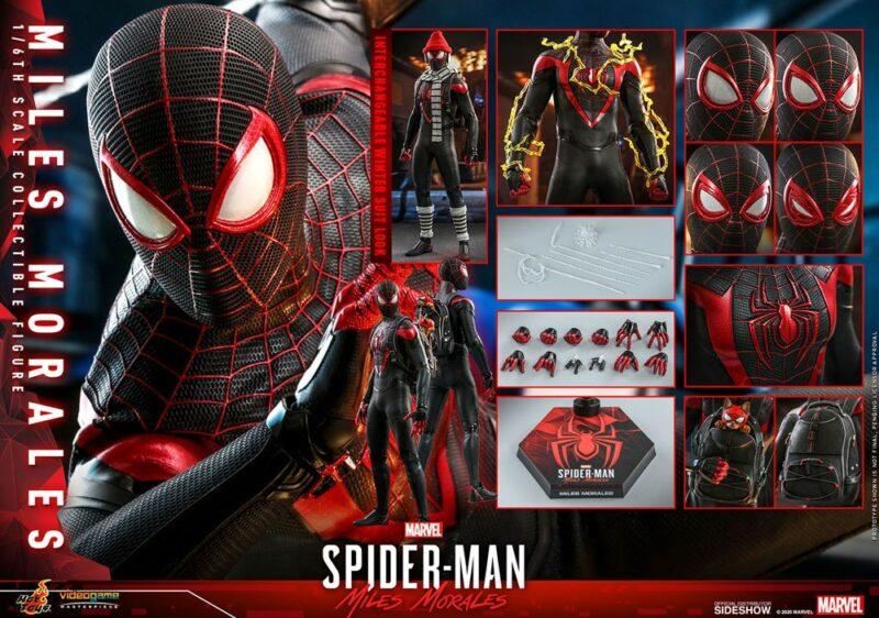 Marvel's Spider-Man: Miles Morales Video Game Masterpiece Action Figure 1/6 Miles Morales 30 cm