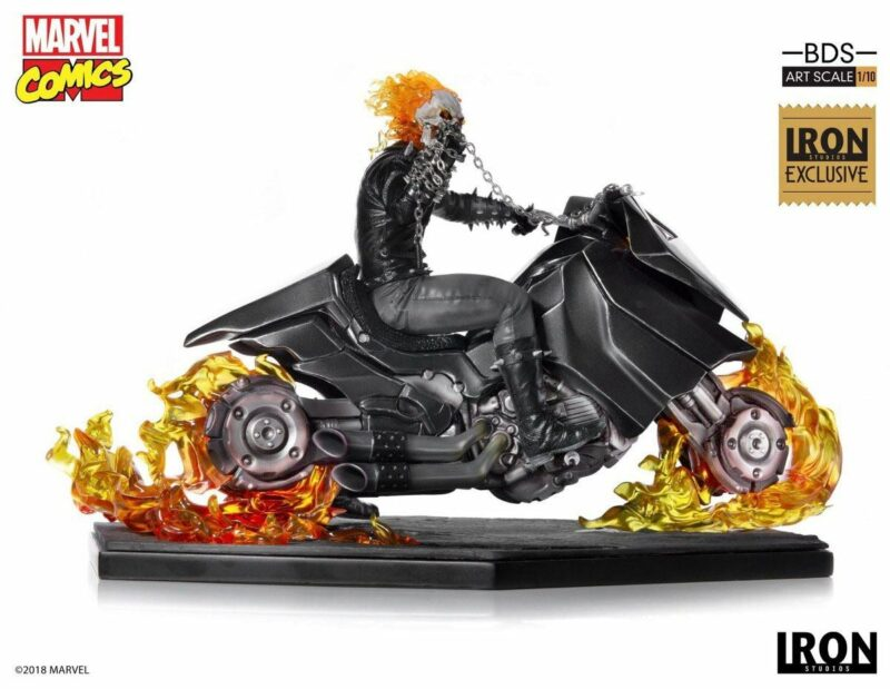 Marvel Comics Statue 1/10 Ghost Rider CCXP 2019 Exclusive 20 cm