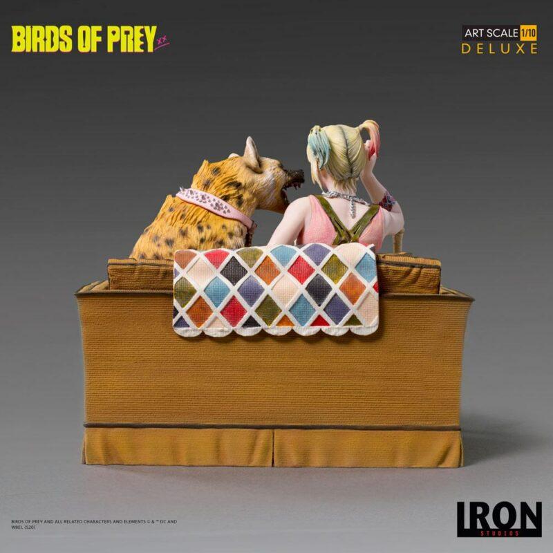 Birds of Prey Deluxe Art Scale Statue 1/10 Harley Quinn & Bruce 13 cm