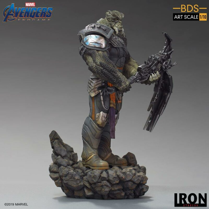 Avengers: Endgame BDS Art Scale Statue 1/10 Cull Obsidian Black Order 36 cm