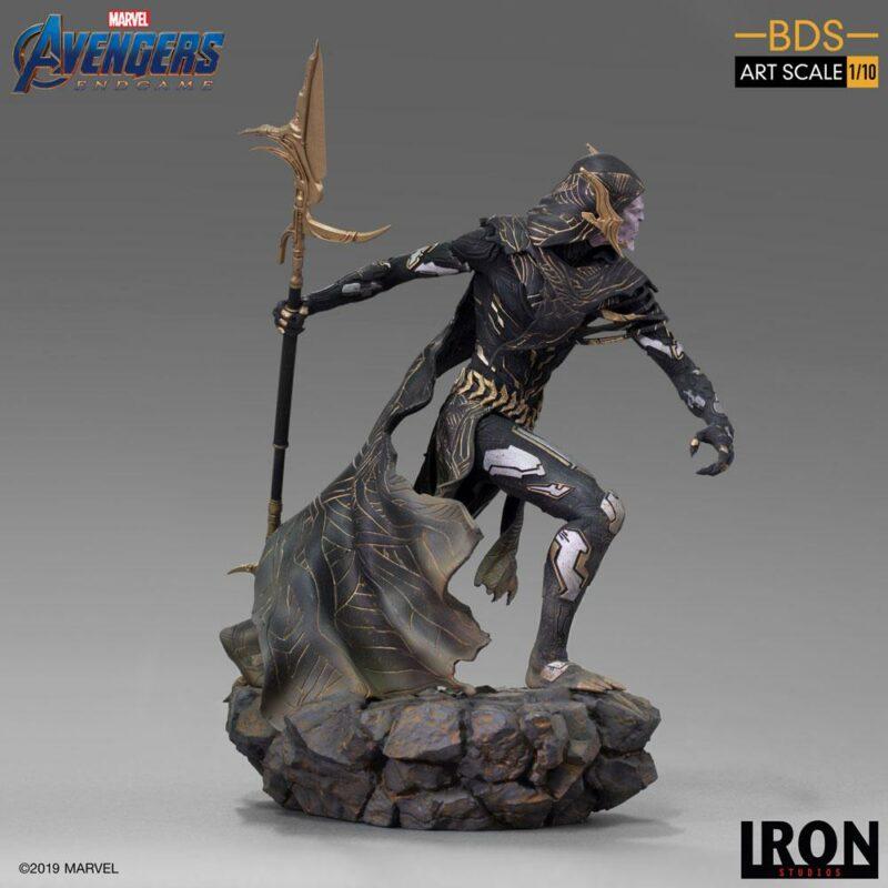 Avengers: Endgame BDS Art Scale Statue 1/10 Corvus Glaive Black Order 27 cm