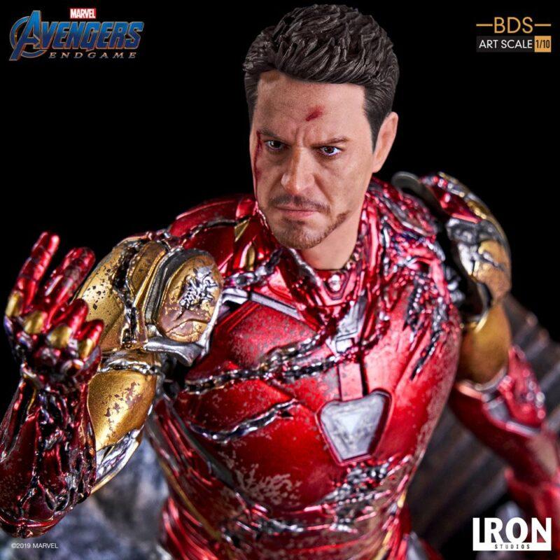 Avengers: Endgame BDS Art Scale Statue 1/10 I am Iron Man 15 cm