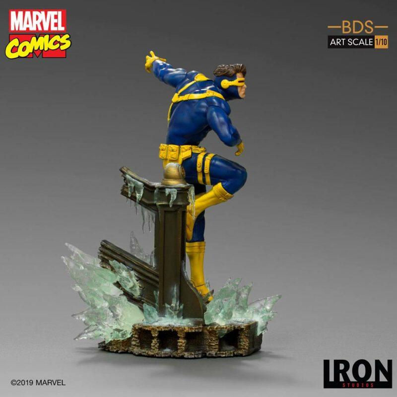 Marvel Comics BDS Art Scale Statue 1/10 Cyclops 22 cm