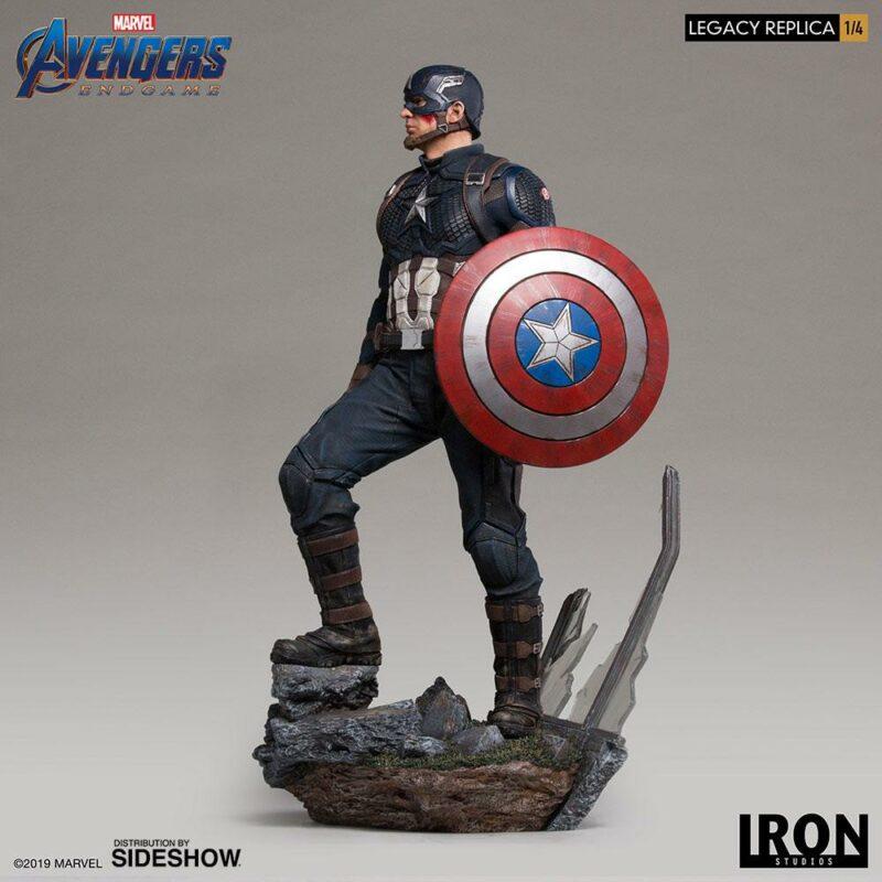 Avengers: Endgame Legacy Replica Statue 1/4 Captain America 59 cm