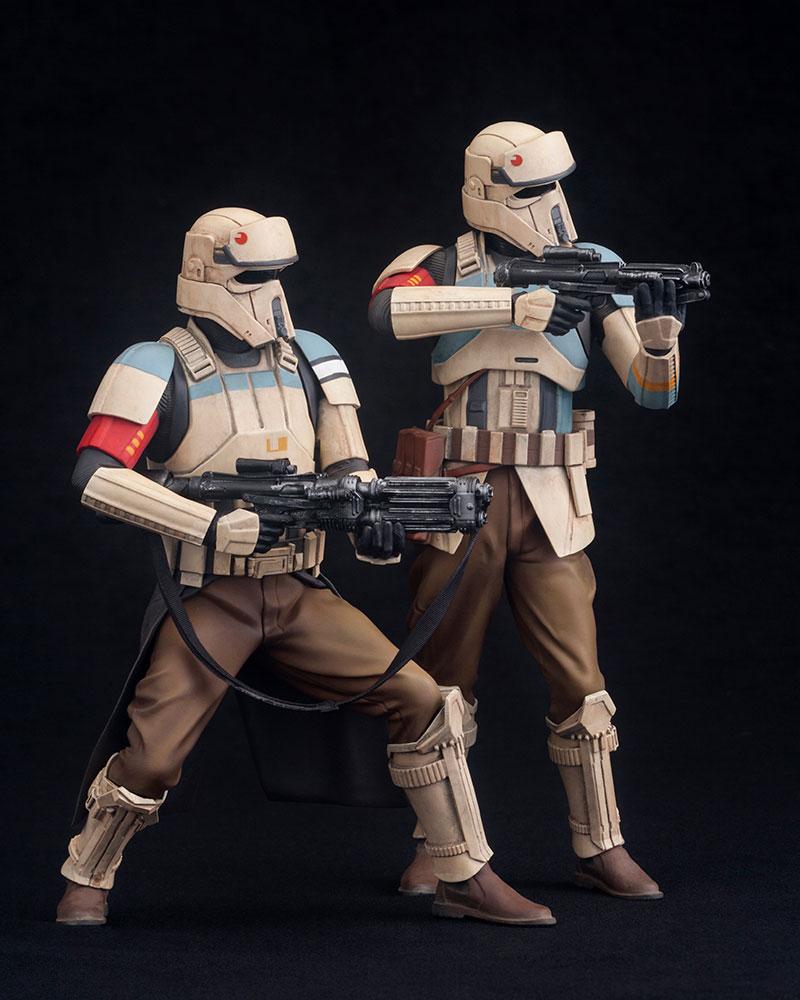 Star Wars Rogue One ARTFX+ Statue 2-Pack Scarif Stormtrooper 18 cm