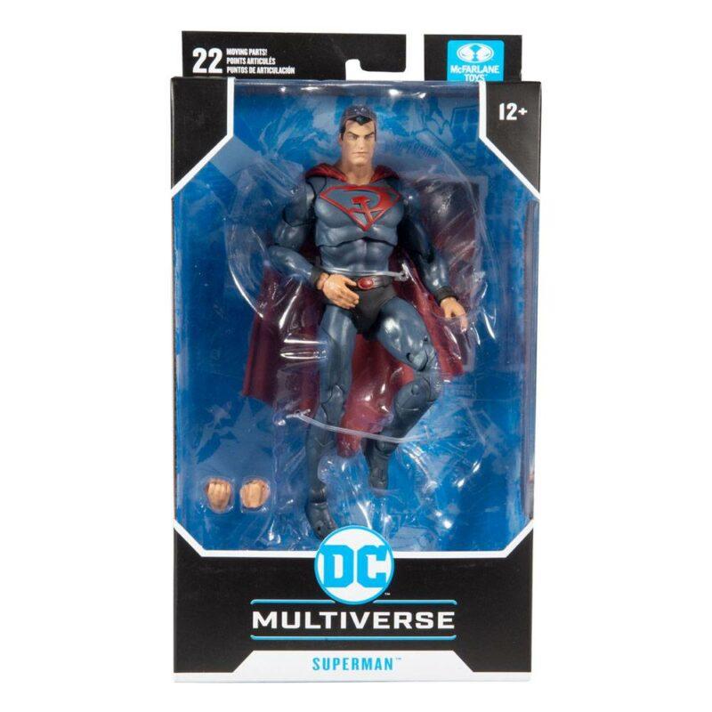DC Multiverse Action Figure Superman: Red Son 18 cm
