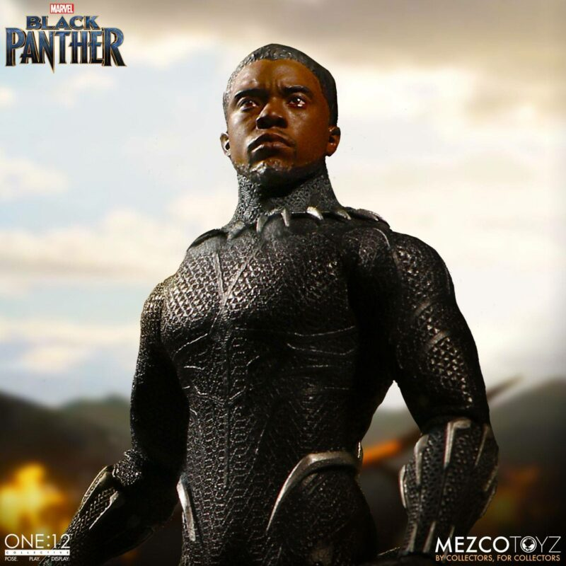 Marvel Universe Action Figure 1/12 Black Panther 17 cm