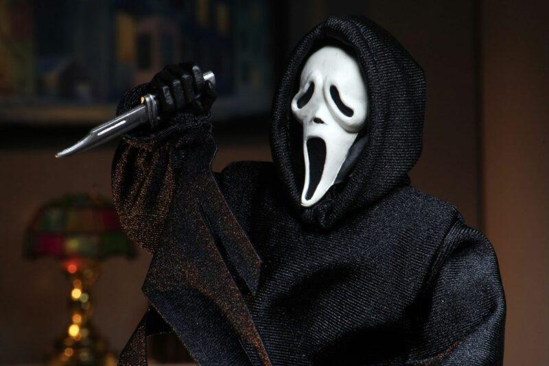 Scream Retro Action Figure Ghostface (Updated) 20 cm