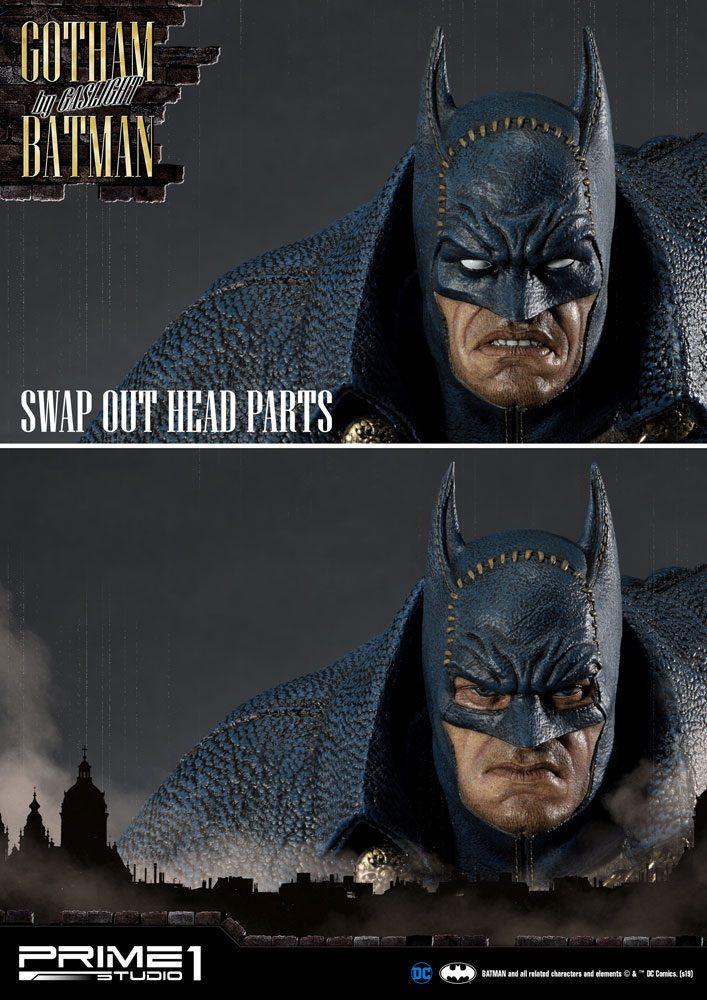 Batman Arkham Origins Statue 1/5 Gotham By Gaslight Batman Blue Version 57 cm