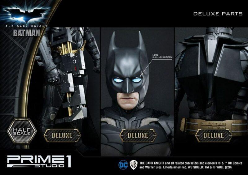 The Dark Knight 1/2 Statue Batman Deluxe Version 104 cm
