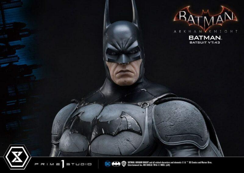 Batman Arkham Knight 1/3 Statue Batman Batsuit v7.43 86 cm