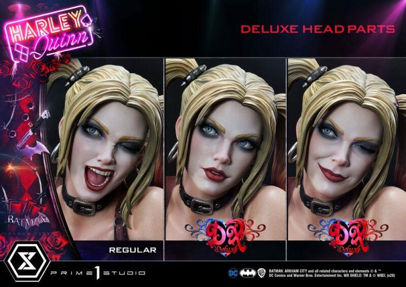 Batman Arkham City Statue 1/3 Harley Quinn Deluxe Bonus Version 58 cm