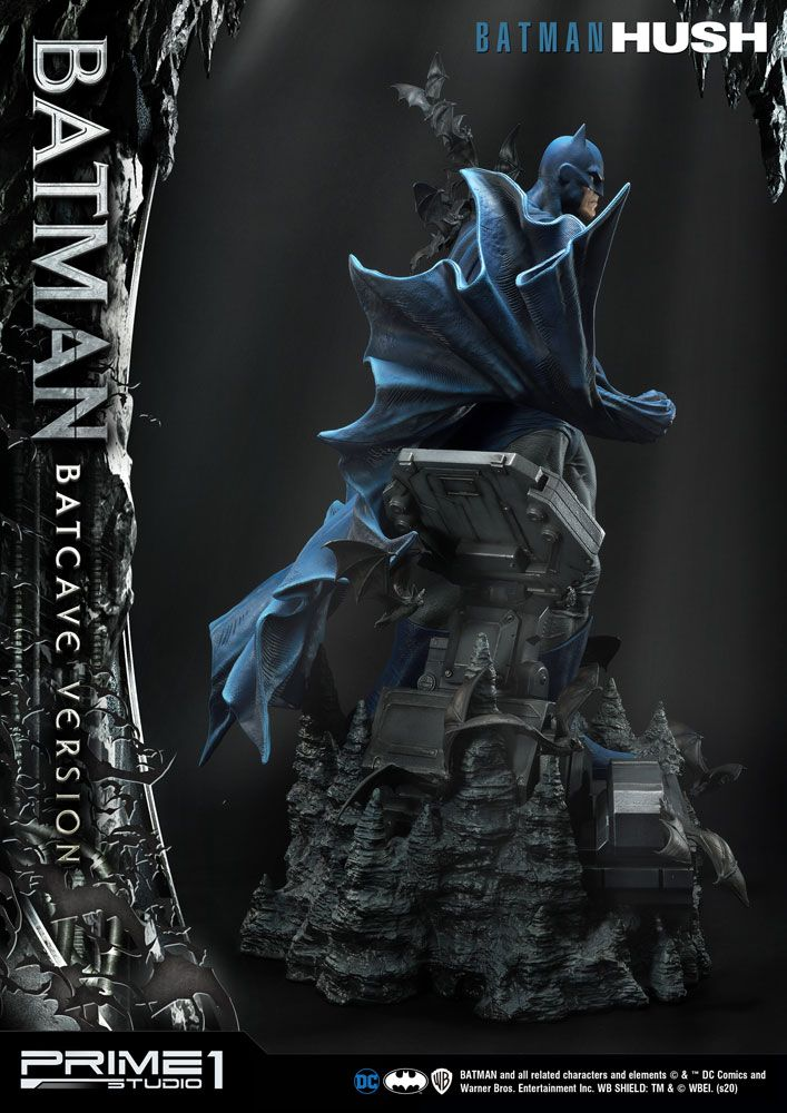 Batman Hush Statue 1/3 Batman Batcave Version 88 cm