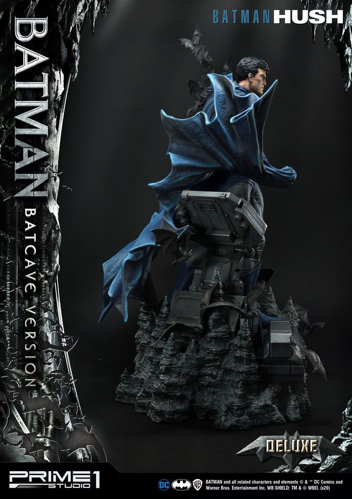 Batman Hush Statue 1/3 Batman Batcave Deluxe Version 88 cm