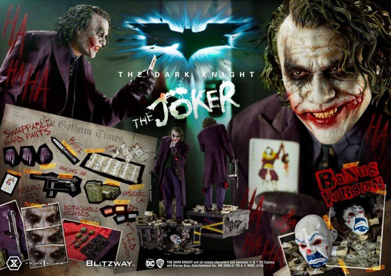 Batman The Dark Knight Statue 1/3 The Joker Bonus Version 72 cm