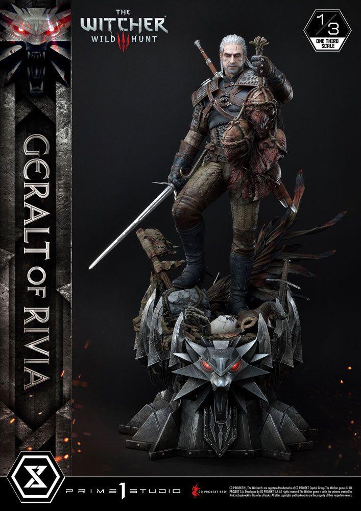 Witcher 3 Wild Hunt Statue 1/3 Geralt von Riva 88 cm
