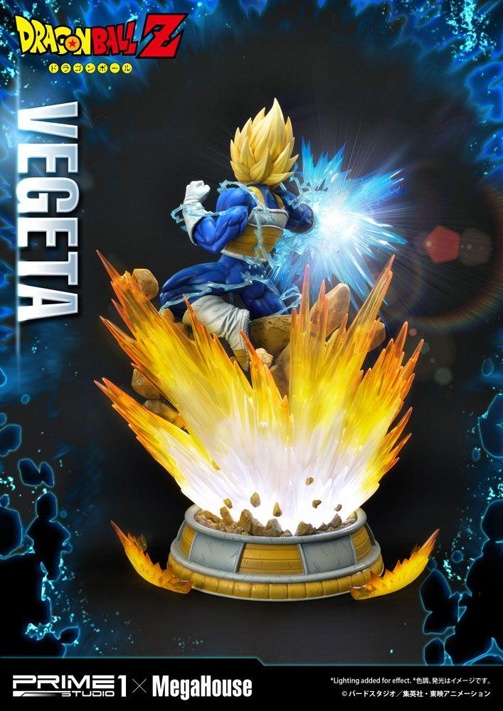 Dragon Ball Z Statue 1/4 Super Saiyan Vegeta 64 cm
