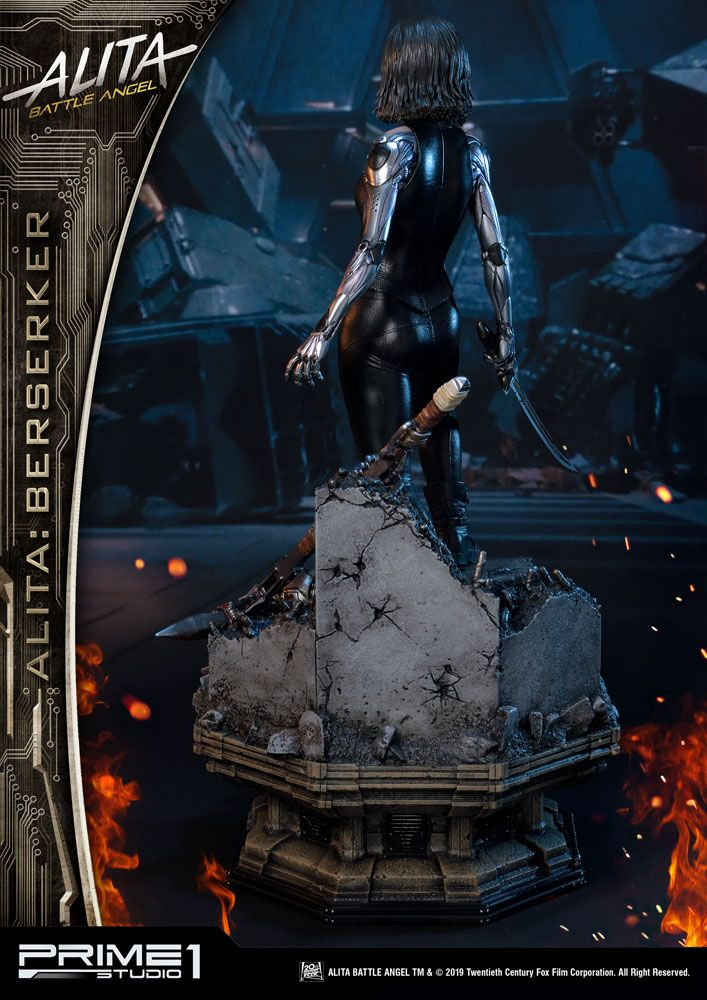 Alita: Battle Angel Statue 1/4 Alita Berserker 64 cm