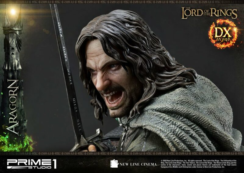 Lord of the Rings Statue 1/4 Aragorn Deluxe Version 76 cm