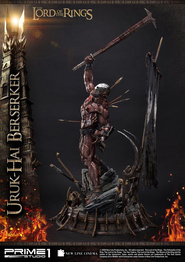 Lord of the Rings Statue 1/4 Uruk-Hai Berserker 93 cm
