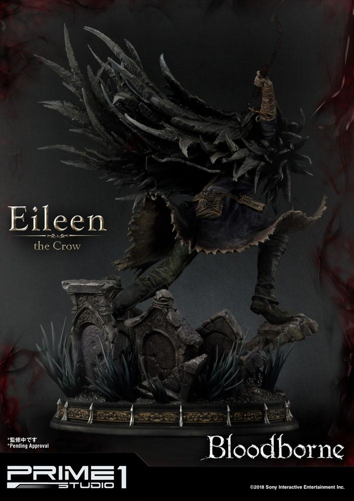 Bloodborne The Old Hunters Statue Eileen The Crow 70 cm